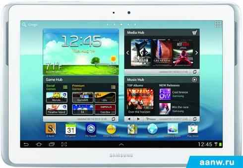 Samsung Galaxy Note 10.1 White 16GB (GT-N8013)