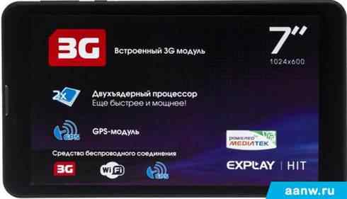 Android планшет Explay Hit 4GB 3G