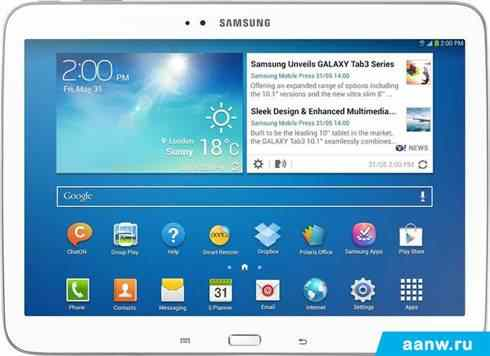 Android планшет Samsung Galaxy Tab 3 10.1 32GB LTE White (GT-P5220)