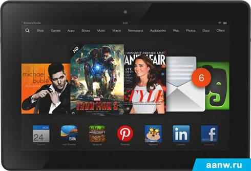Android планшет Amazon Kindle Fire HDX 8.9 64GB 4G