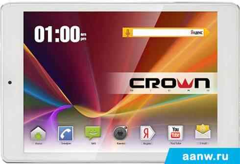 Android планшет CrownMicro B806 white 16GB