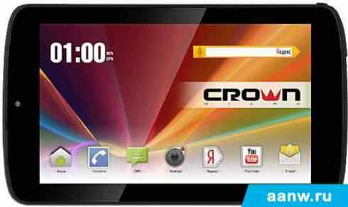 Android планшет CrownMicro B768 black 8GB