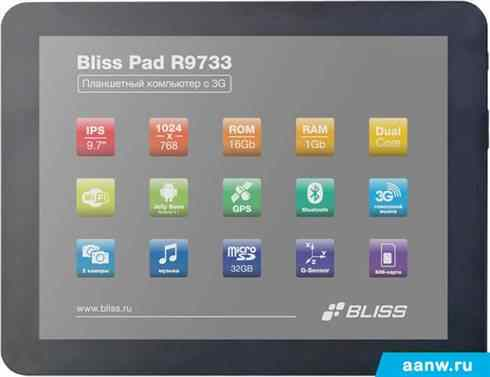 Bliss Pad R9733 16GB