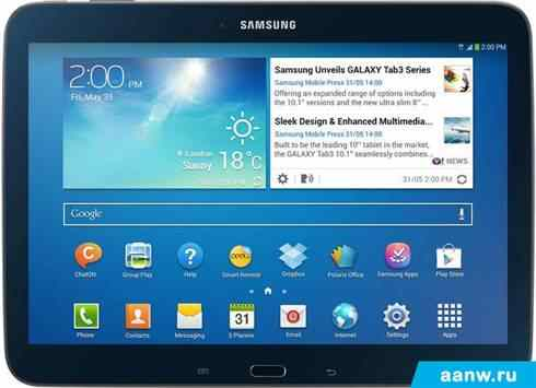 Android планшет Samsung Galaxy Tab 3 10.1 16GB 3G Jet Black (GT-P5200)