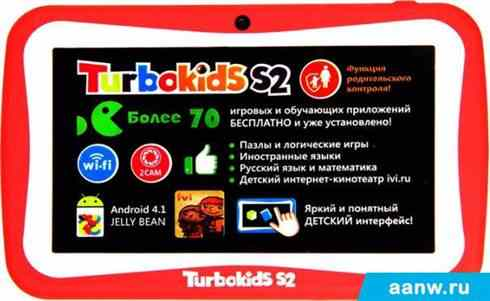 Turbopad TurboKids S2 8GB Red