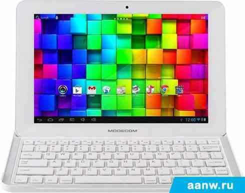Android планшет MODECOM FreeTAB 1002 IPS X4 BT Keyboard 8GB