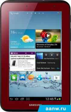 Android планшет Samsung Galaxy Tab 2 7.0 8GB 3G Garnet Red (GT-P3100)