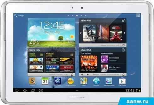 Android планшет Samsung Galaxy Note 10.1 16GB Pure White (GT-N8010)
