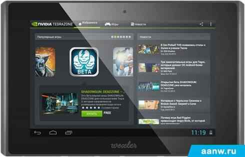 Android планшет Wexler .TAB 7t 16GB 3G