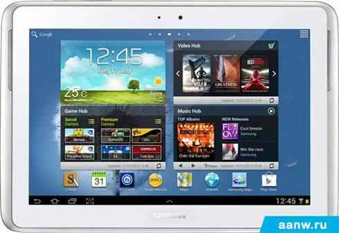 Android планшет Samsung Galaxy Note 10.1 64GB 3G Pearl White (GT-N8000)