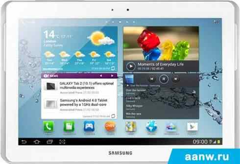 Android планшет Samsung Galaxy Tab 2 10.1 16GB Pure White (GT-P5110)