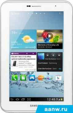 Android планшет Samsung Galaxy Tab 2 7.0 16GB 3G Pure White (GT-P3100)