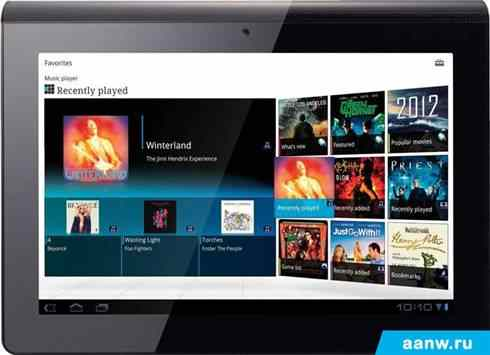 Android планшет Sony Tablet S 16GB 3G (SGPT114RU)
