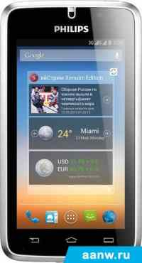 Android смартфон Philips W8500