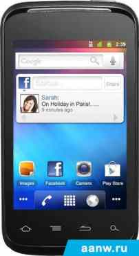 Android смартфон Alcatel One Touch 983