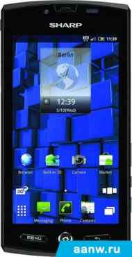 Android смартфон Sharp Aquos Phone SH80F