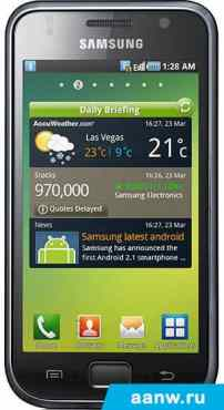 Android смартфон Samsung i9000 Galaxy S (16Gb)